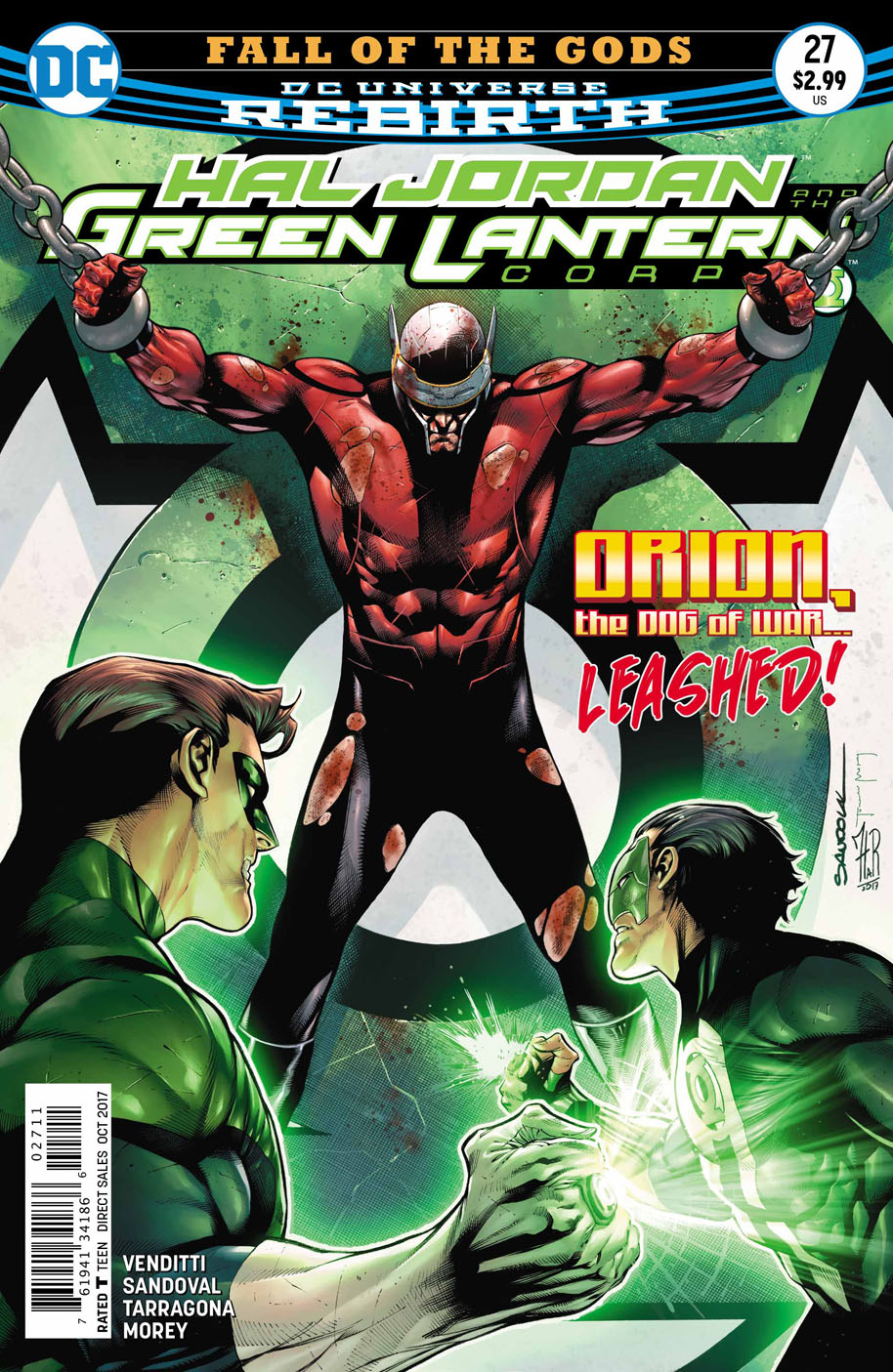 Hal Jordan and the Green Lantern Corps 27 cover
