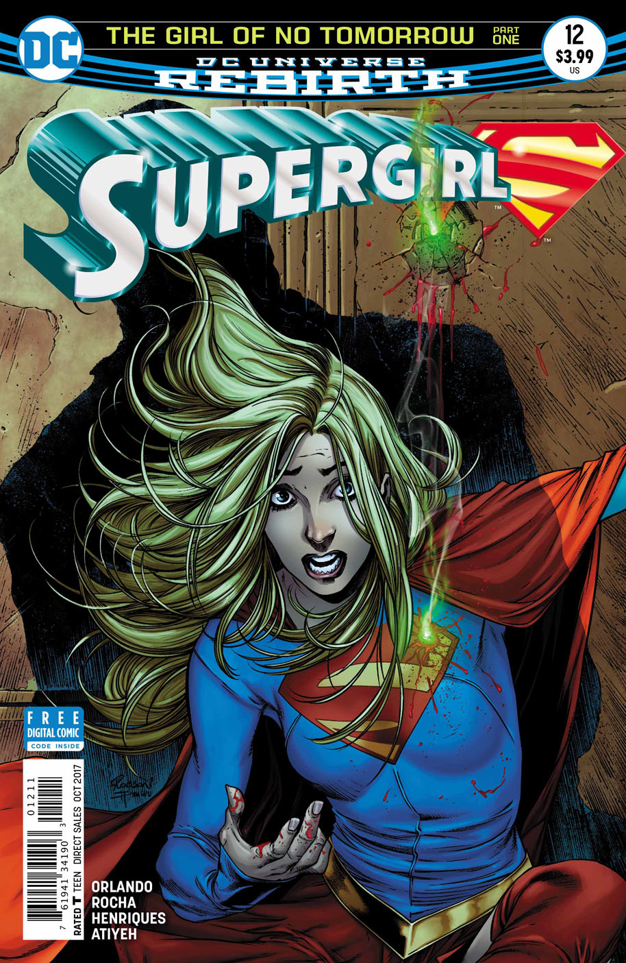 Supergirl 12 cover