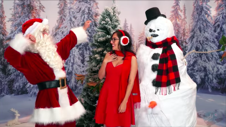 There's A Frosty The Snowman Porn Parody