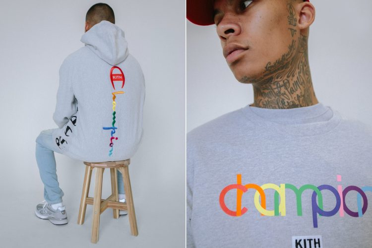 KITH x champion collaboration sells out