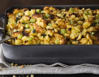 How To Turn Your Standard Stuffing Side-Dish Into A Thanksgiving Legend