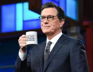 Stephen Colbert's 'Shutdown Mug' Raises Money For Unpaid Federal Workers