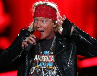 Axl Rose Apparently Can't Release New Music In Under A Decade Unless It's For Cartoons