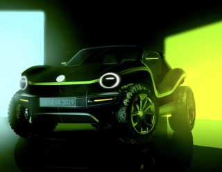 Bug Out in the New Volkswagen Electric Dune Buggy