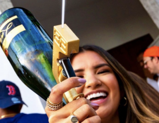 Bubbly Blaster Invented a Super Soaker for 'Adults' (And It Sprays Champagne!)