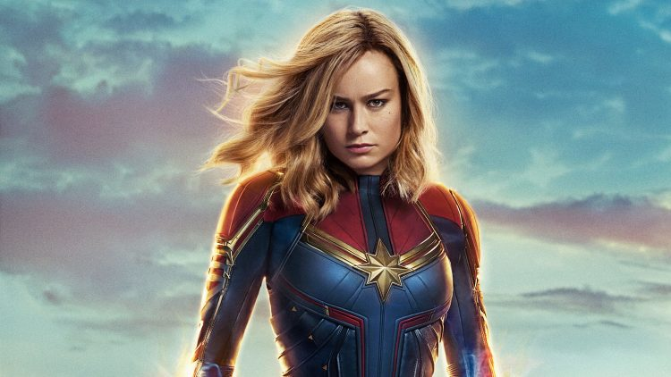 Captain Marvel Female Superheroes