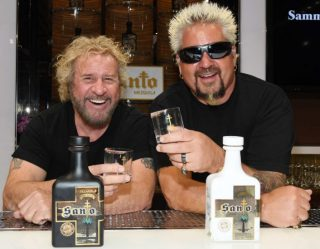 Celebrity Spirits: Foodie Guy Fieri And Rock Star Sammy Hagar Launch Tequila Brand