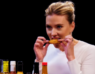 Watching Scarlett Johansson on 'Hot Ones' Is More Nerve-Wracking Than 'Avengers: Endgame' Could Possibly Be