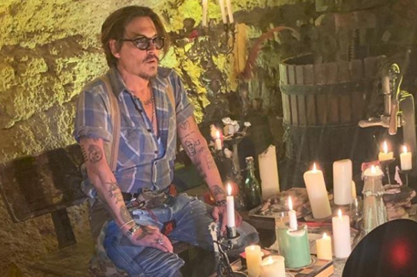 Johnny Depp Joins Instagram, Saving the World From Completely Going to Hell