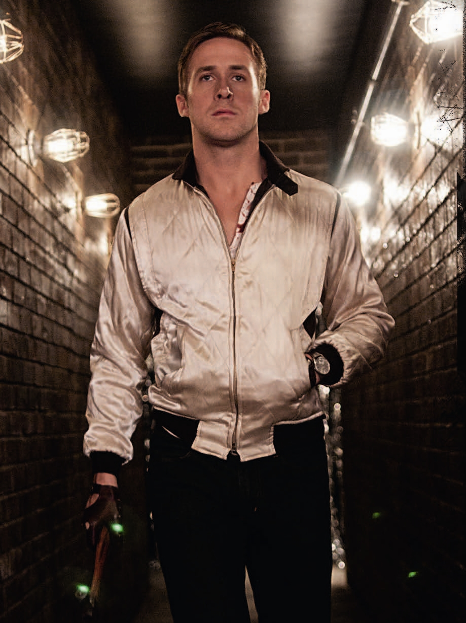 Ryan Gosling in Drive.