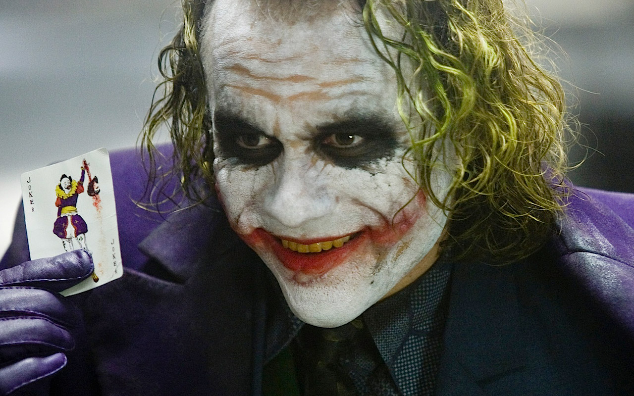 The Joker from The Dark Knight Rises.