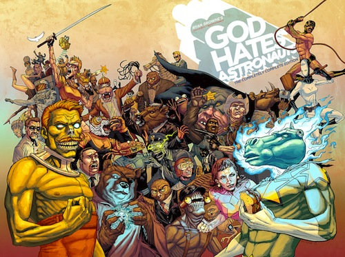 18: GOD HATES ASTRONAUTS: THE COMPLETELY COMPLETE EDITION by Ryan Browne