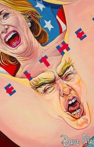 Neither Hillary/Trump by Dave MacDowell