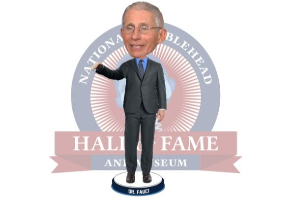 Dr. Fauci Bobblehead Doll to Be Available Soon, Also Shakes Its Head at President Trump