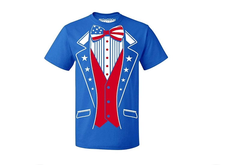 Promotion & Beyond America The Beautiful Tuxedo Shirt