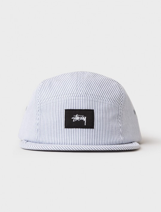 Seersucker Camp Cap by Stussy
