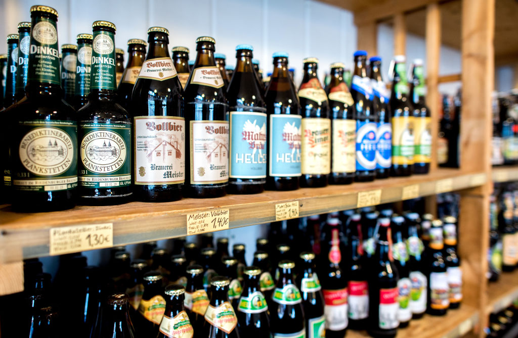 2. Your Beer Bottle Collection Shelf