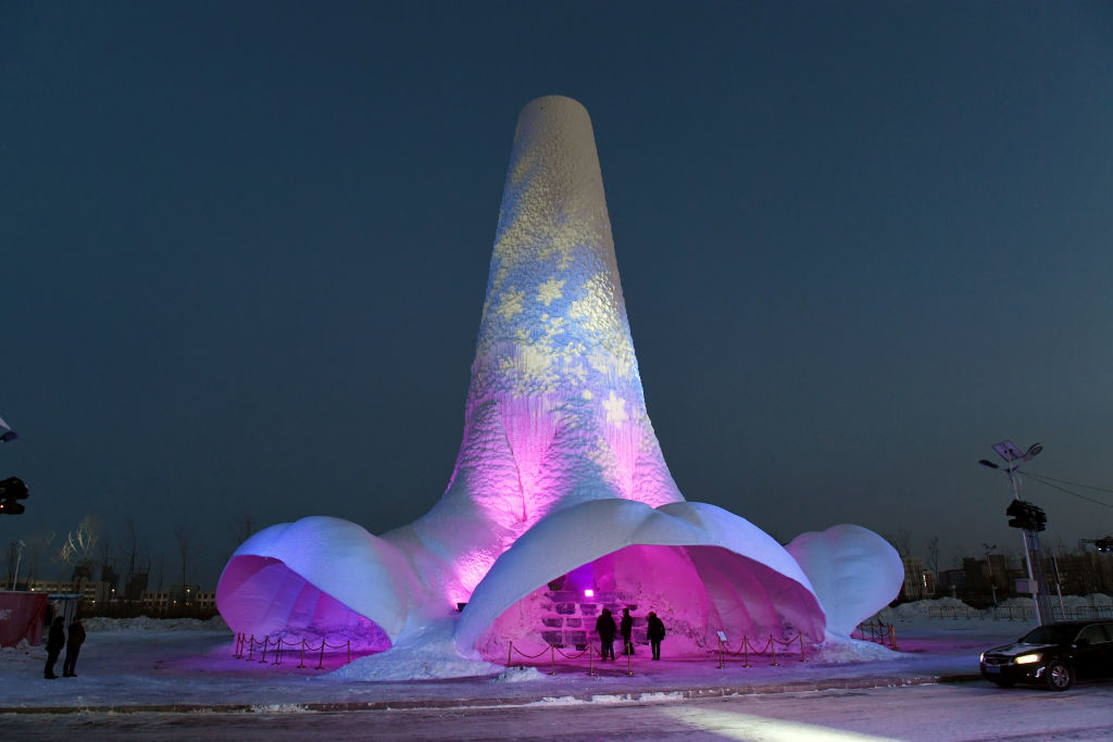 Harbin International Ice and Snow Festival: China