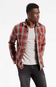 Levi's, Jackson Flannel Worker Shirt