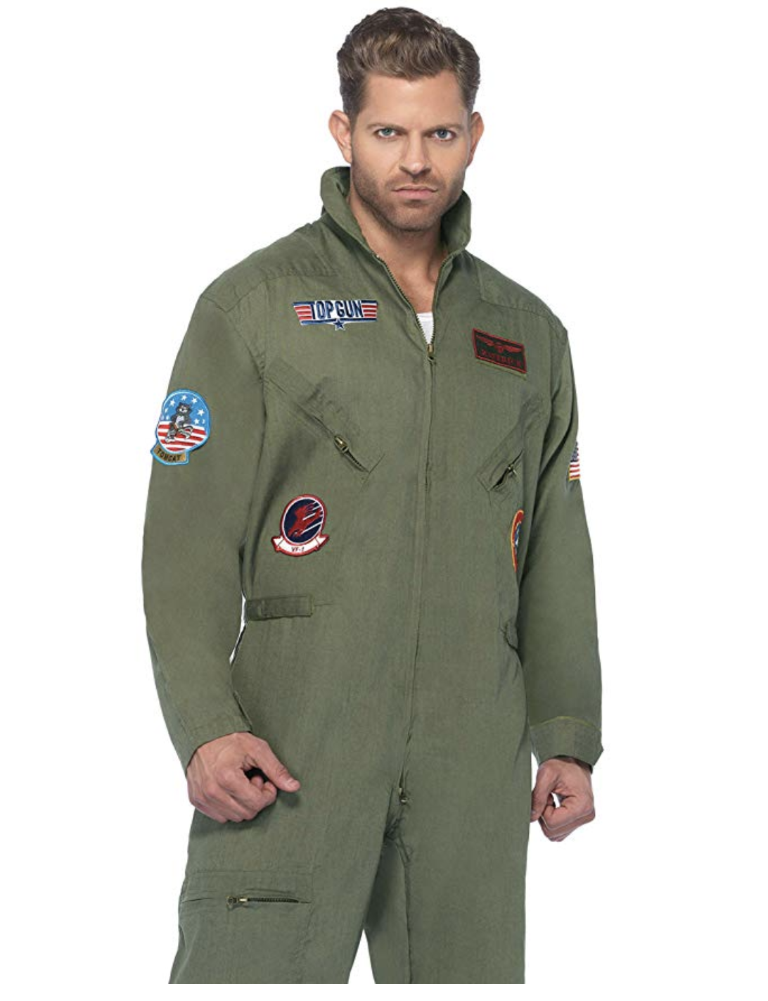 Leg Avenue's Top Gun Flight Suit Costume