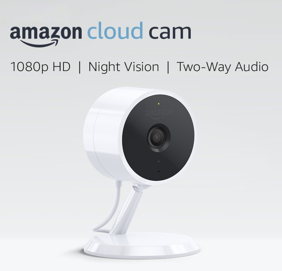 Amazon Cloud Cam Security Camera With Alexa Compatibility
