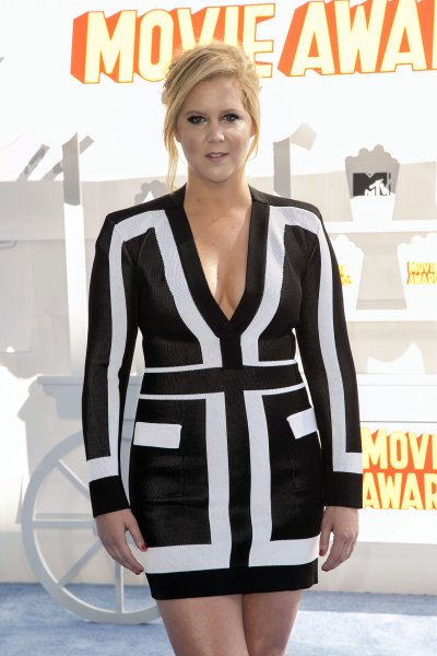 The 2015 MTV Movie Awards at Nokia Theatre L.A. Live - Red Carpet Arrivals Featuring: Amy Schumer Where: Los Angeles, California, United States When: 12 Apr 2015 Credit: Brian To/WENN.com