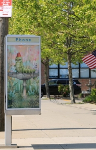 """Art in Ad Places"" Transforms the City Sidewalks into a Gallery"