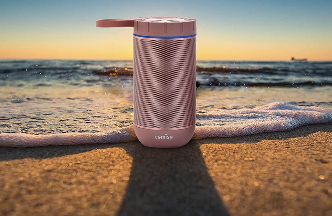 Comiso Waterproof Outdoor Bluetooth Speaker