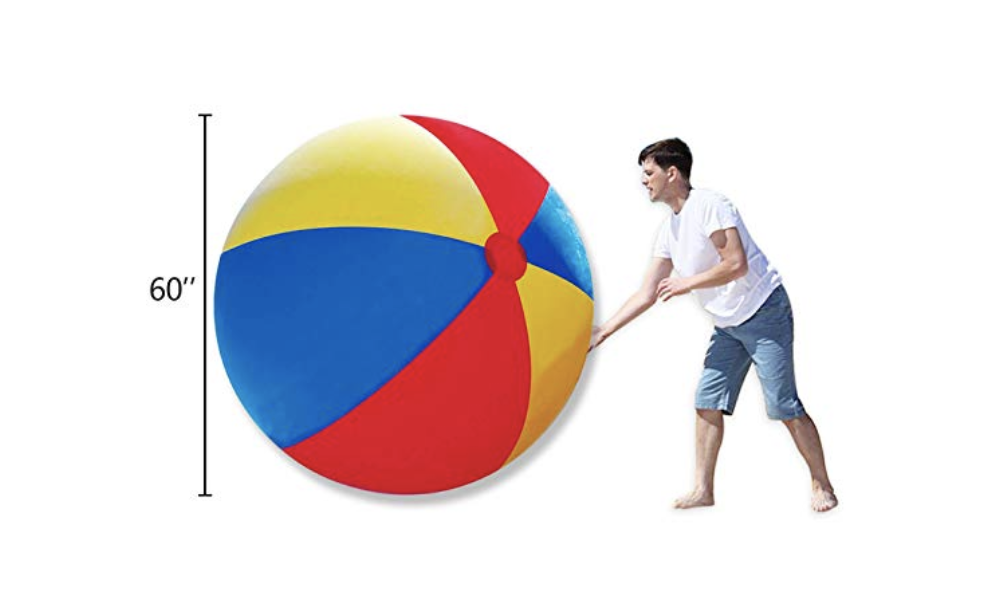 Novelty Place Giant Inflatable 5' Beach Ball
