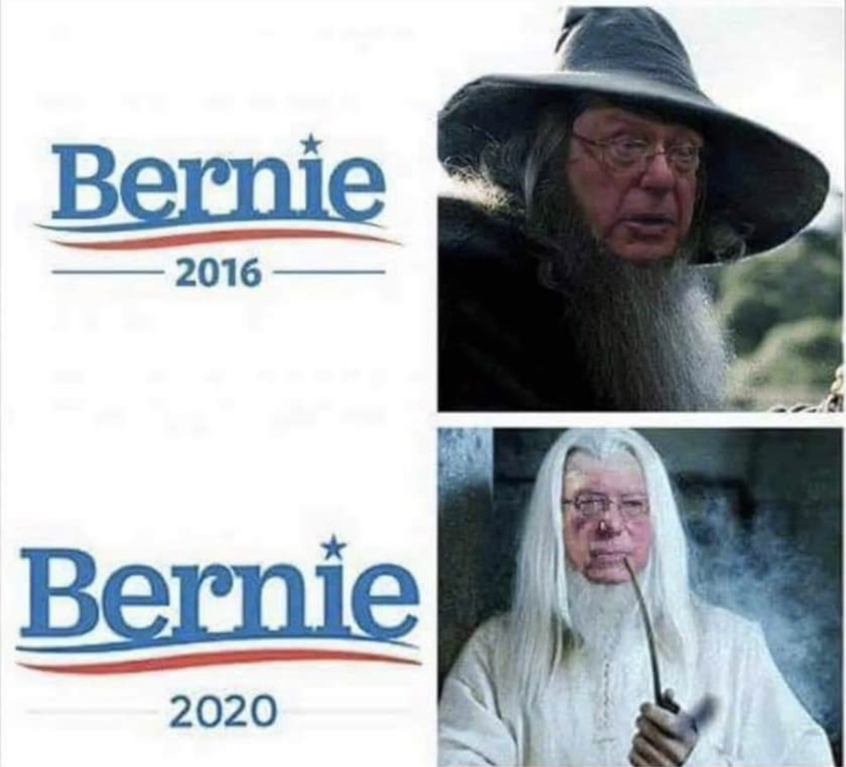 No Longer Bernie the Grey