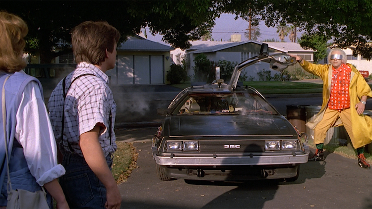 2. DeLorean Time Machine (Back To The Future)
