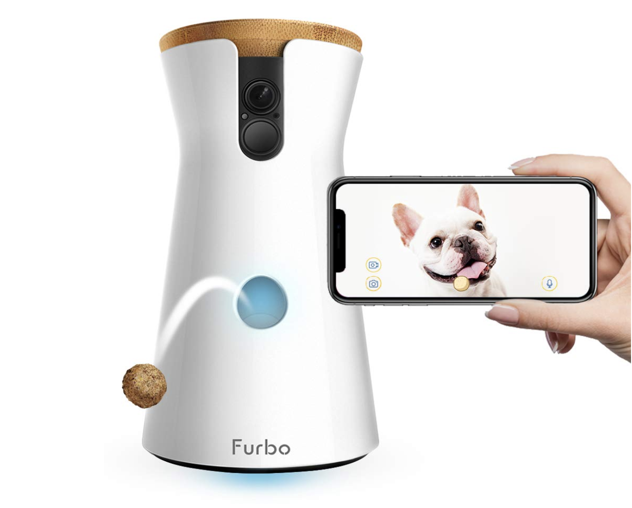 Furbo Dog Camera: Treat Tossing, Full HD Wifi Pet Camera With 2-Way Audio - $134.99 (Down From $199.00)