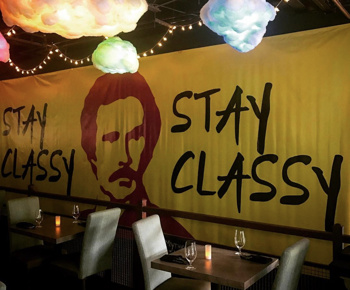 Stay Classy Bar, An Homage To Ron Burgundy