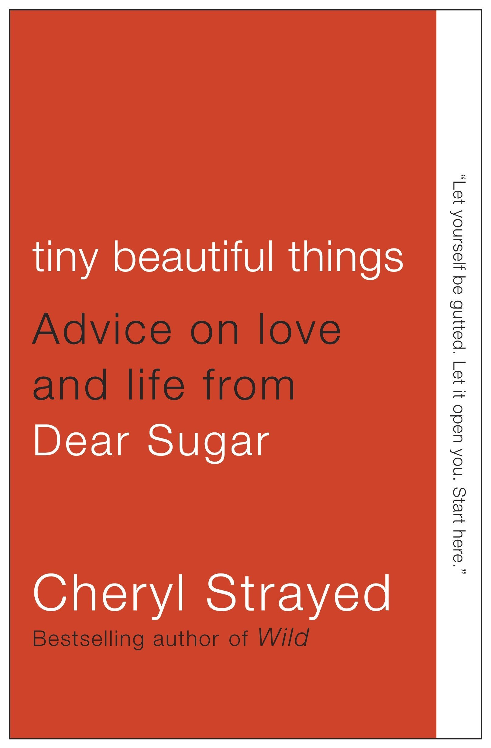 'Tiny Beautiful Things: Advice on Love and Life from Dear Sugar' by Cheryl Strayed