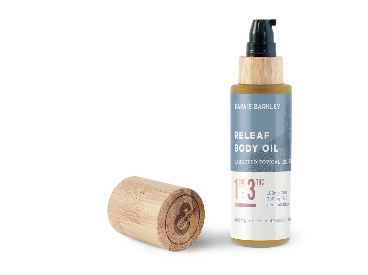 Papas & Barkley Releaf Body Oil