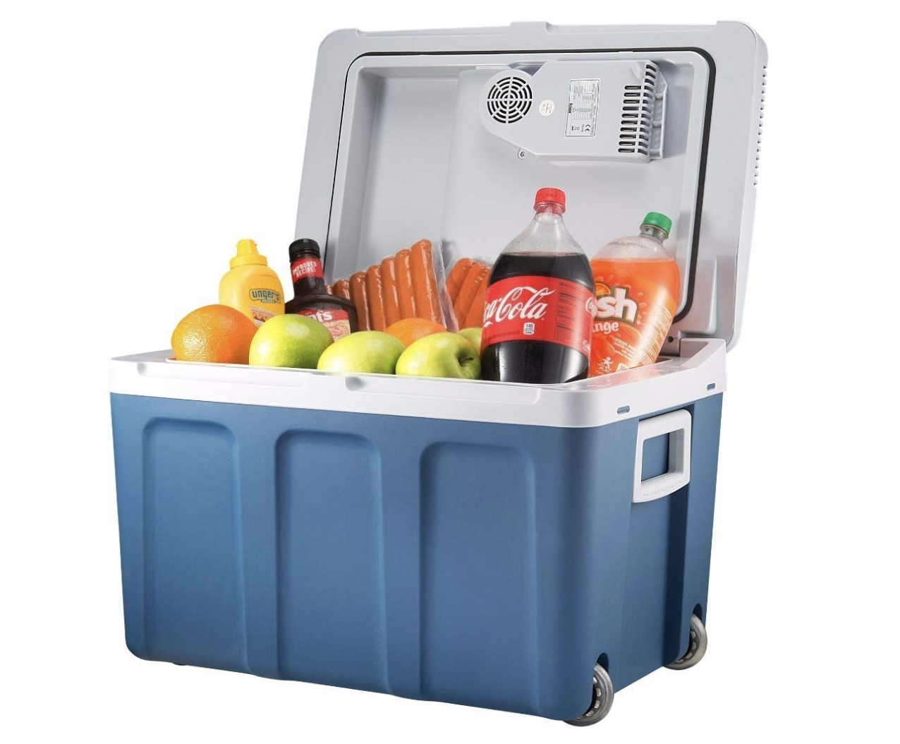 7. Knox Electric Cooler and Warmer For Car and Home With Wheels