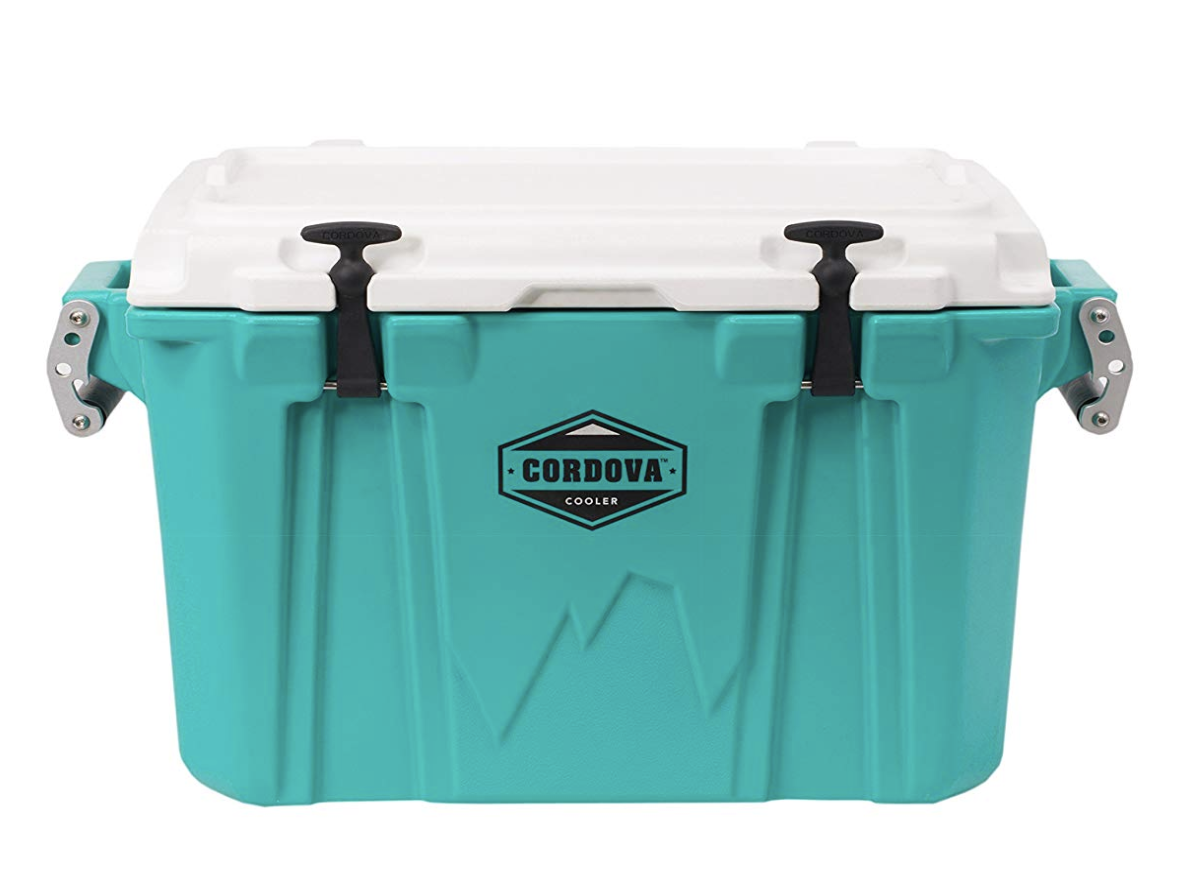 8. Cordova 50 Medium Cooler With Built-In Bottle Opener