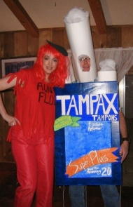 Aunt Flo and Tampon