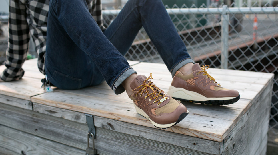 New Balance M585DR - Brown/Khaki