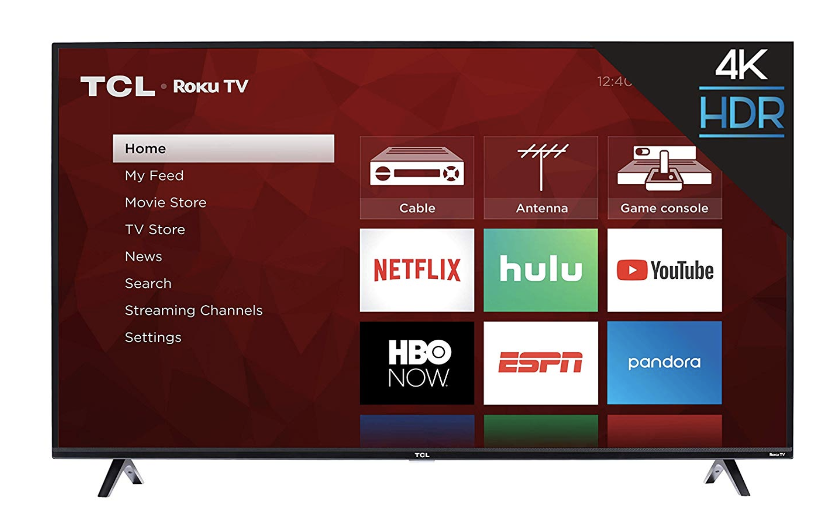 TCL 50S425 50-Inch 4K Smart LED Roku TV (2019)