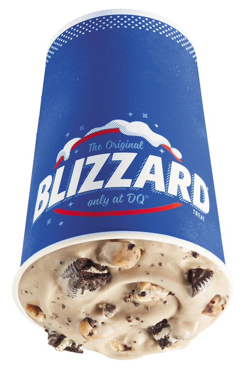 2. Oreo Cookie Jar Blizzard