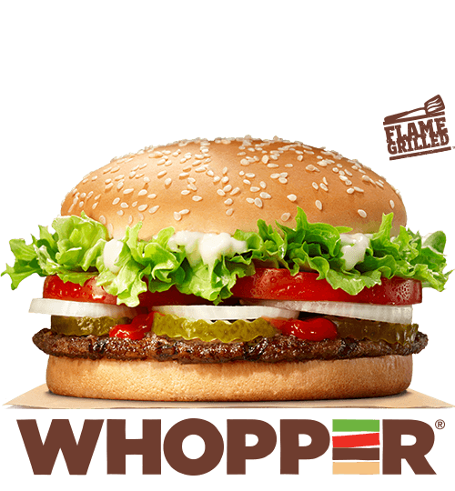 6. Burger King Whopper