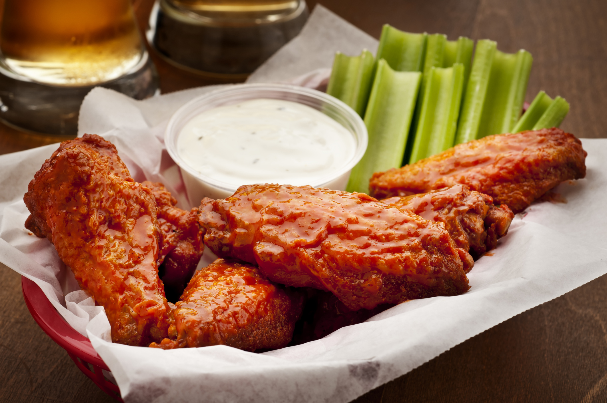 8. Hot Wings