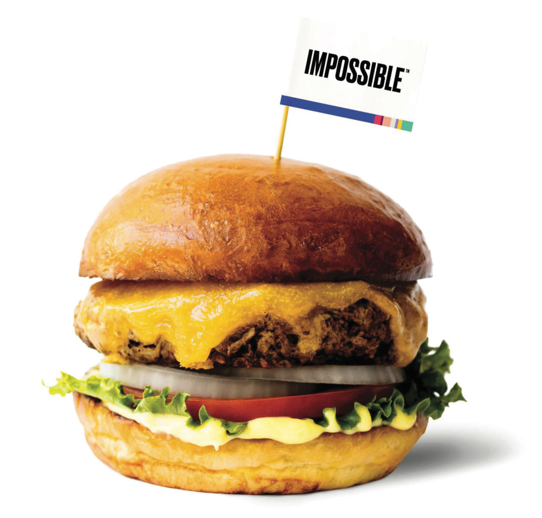 7. It's Impossible How Popular Meatless Burgers Are
