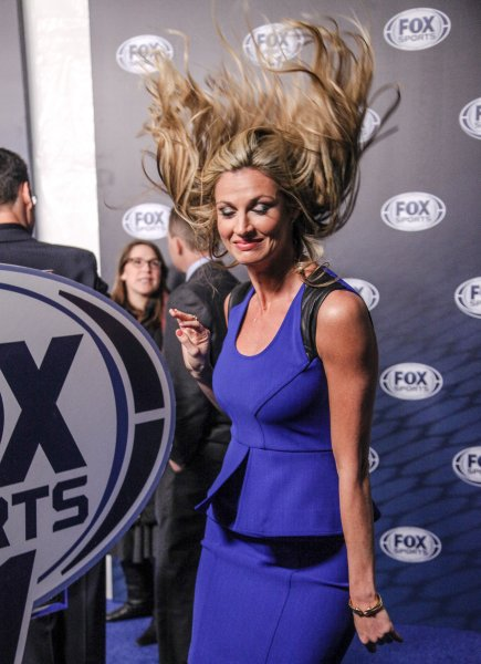 2013 Fox Sports Media Group Upfront After Party - Arrivals Featuring: Erin Andrews Where: New York City, NY, United States When: 01 Jan 2000 Credit: Kyle Blair/WENN.com