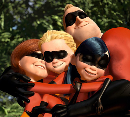 11. The Incredibles (2004)