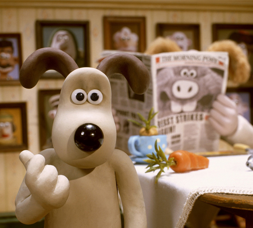 12. Wallace & Gromit in The Curse of the Were-Rabbit (2005)