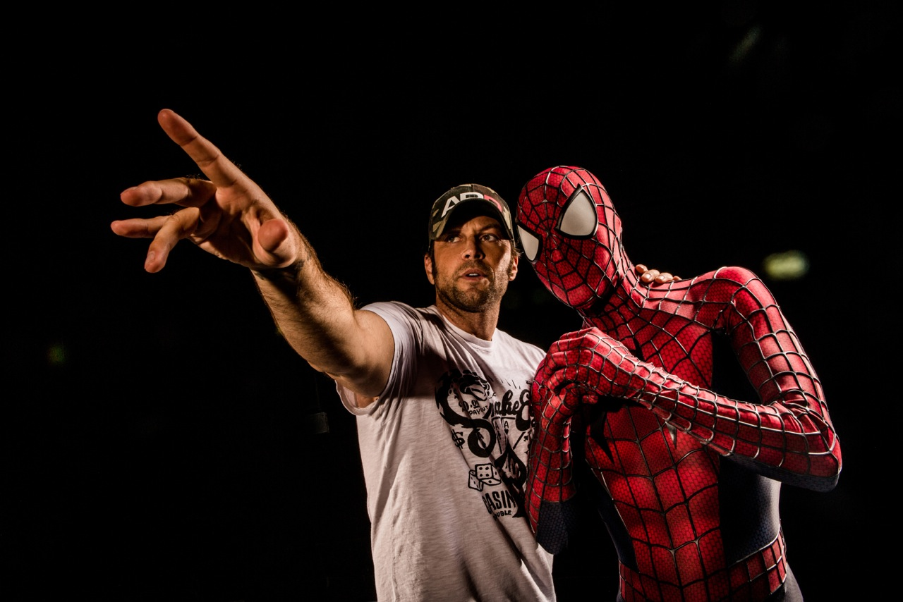 Axel Braun Directs Xander Corvus, as Spider-Man