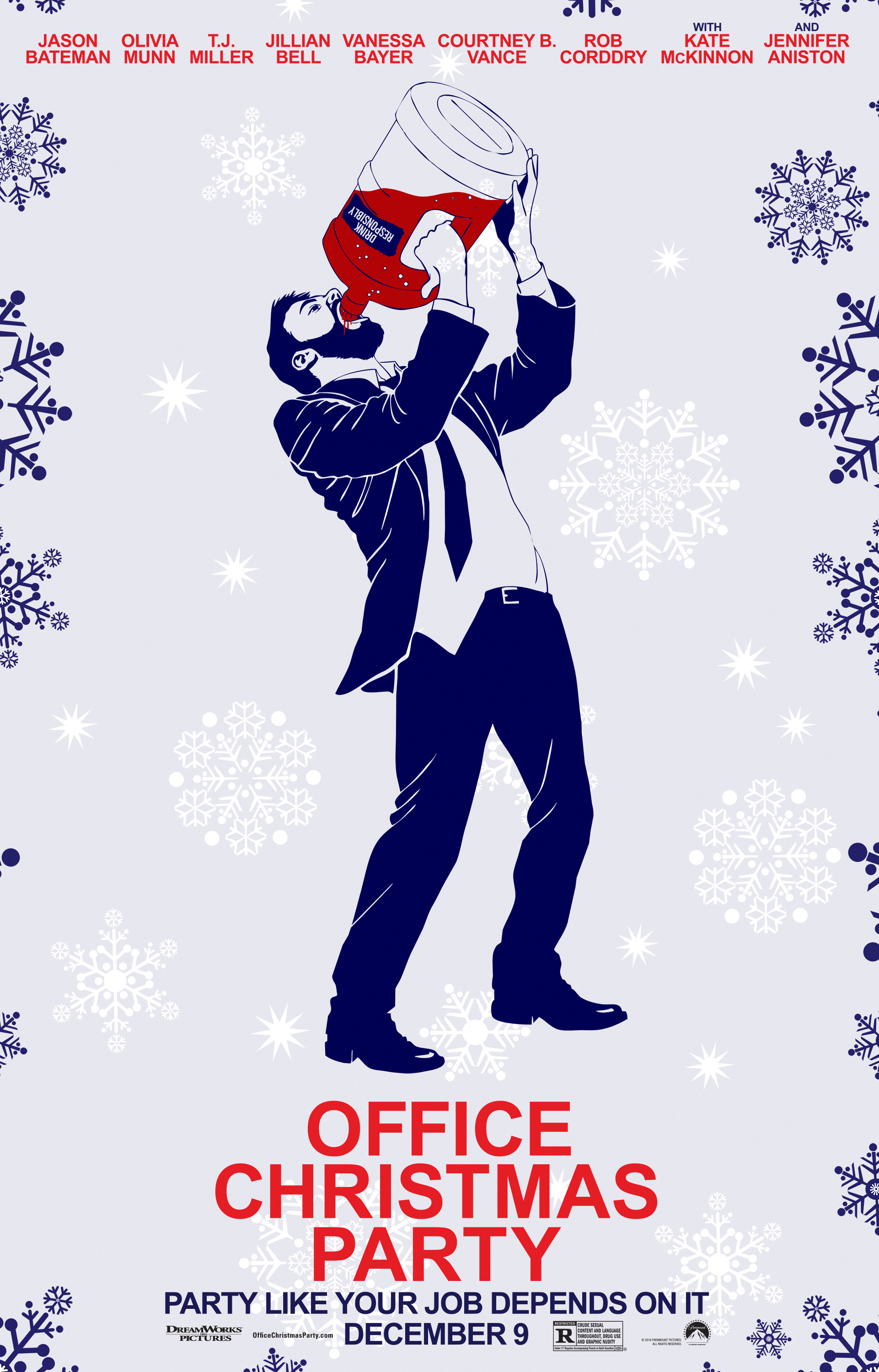 Nine Exclusive Posters from \'Office Christmas Party\' - Mandatory