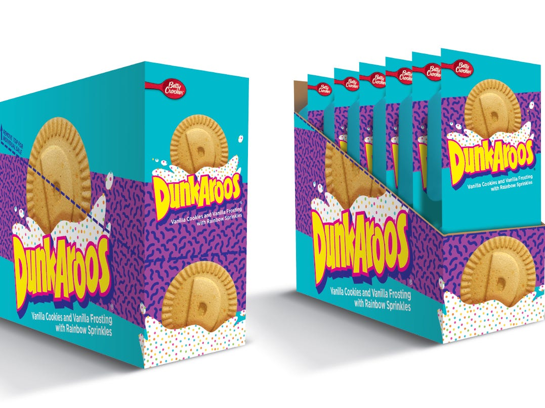 Nostalgia Alert: Dunkaroos Are Back to Give You the Cavities You Haven't Had Since You Were 12